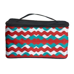 Geometric Waves Cosmetic Storage Case by dflcprints