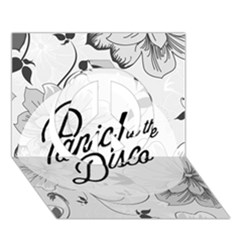 Panic At The Disco Flowers Peace Sign 3d Greeting Card (7x5) by Onesevenart