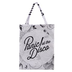 Panic At The Disco Flowers Classic Tote Bag by Onesevenart