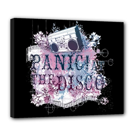 Panic At The Disco Art Deluxe Canvas 24  X 20   by Onesevenart