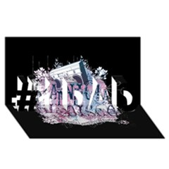 Panic At The Disco Art #1 Dad 3d Greeting Card (8x4) by Onesevenart