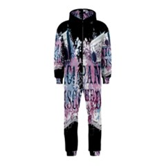 Panic At The Disco Art Hooded Jumpsuit (kids) by Onesevenart