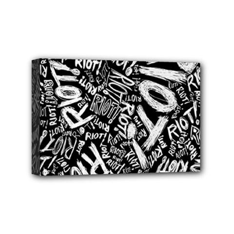 Panic At The Disco Lyric Quotes Retina Ready Mini Canvas 6  X 4  by Onesevenart
