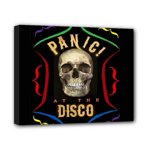 Panic At The Disco Poster Canvas 10  X 8  by Onesevenart