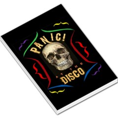 Panic At The Disco Poster Large Memo Pads by Onesevenart