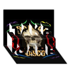 Panic At The Disco Poster Take Care 3d Greeting Card (7x5) by Onesevenart