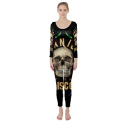 Panic At The Disco Poster Long Sleeve Catsuit by Onesevenart