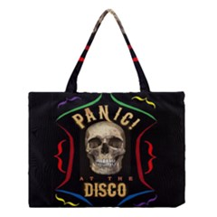 Panic At The Disco Poster Medium Tote Bag by Onesevenart