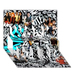Panic! At The Disco College Work Hard 3d Greeting Card (7x5) by Onesevenart