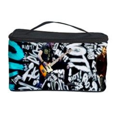 Panic! At The Disco College Cosmetic Storage Case by Onesevenart