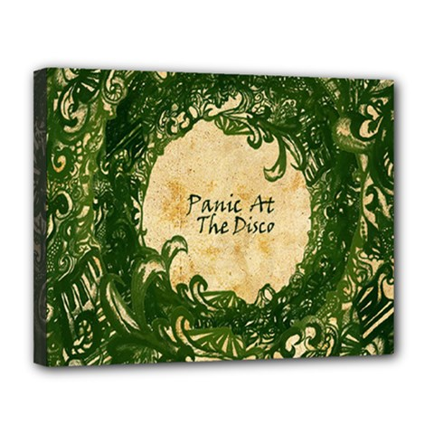 Panic At The Disco Canvas 14  X 11  by Onesevenart