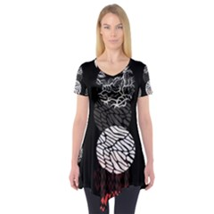 Twenty One Pilots Stressed Out Short Sleeve Tunic  by Onesevenart