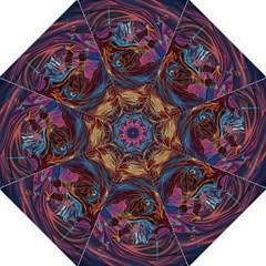 Voodoo Child Jimi Hendrix Hook Handle Umbrellas (medium) by Onesevenart
