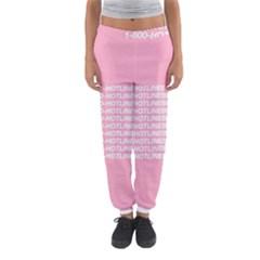 1 800 Hotline Bling Women s Jogger Sweatpants by Onesevenart