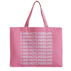 1 800 Hotline Bling Zipper Mini Tote Bag by Onesevenart