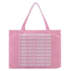 1 800 Hotline Bling Medium Zipper Tote Bag by Onesevenart