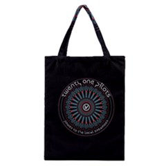 Twenty One Pilots Power To The Local Dreamder Classic Tote Bag by Onesevenart