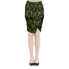 Tulips For The Soul Midi Wrap Pencil Skirt by pepitasart