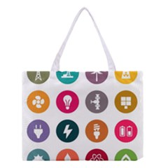 Acces Image Consumer News Letter Medium Tote Bag by AnjaniArt
