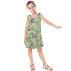 Paint brushes                 Kid s Sleeveless Dress by LalyLauraFLM