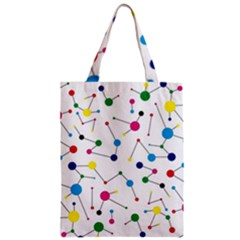 Bol Ball Zipper Classic Tote Bag by AnjaniArt