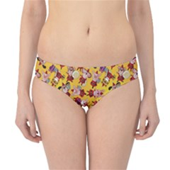 Bears Bunnies Goats Tigers Lions Pigs Gifts Texture Fun Hipster Bikini Bottoms by AnjaniArt
