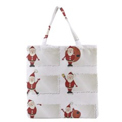 Images Natale Pinterest Christmas Clipart Reindeer Grocery Tote Bag by AnjaniArt
