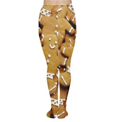 Gingerbread Men Women s Tights by AnjaniArt