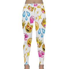 King Cat Smile Water Love Christmast Classic Yoga Leggings by AnjaniArt