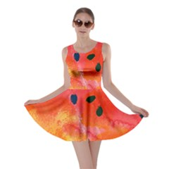 Abstract Watermelon Skater Dress by DanaeStudio