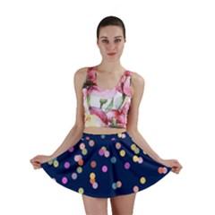 Playful Confetti Mini Skirt by DanaeStudio