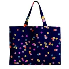 Playful Confetti Zipper Mini Tote Bag by DanaeStudio