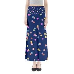 Playful Confetti Maxi Skirts by DanaeStudio