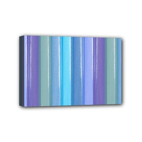 Provence Fields Lavender Pattern Mini Canvas 6  X 4  by DanaeStudio