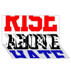 John Cena Rise Above Hate 2 Believe 3d Greeting Card (8x4) by Onesevenart