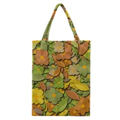Autumn Flowers Classic Tote Bag by Valentinaart