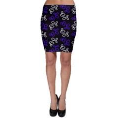 Elegance   Blue Bodycon Skirt by Valentinaart