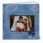 johnson boys - 8x8 Photo Book (20 pages)