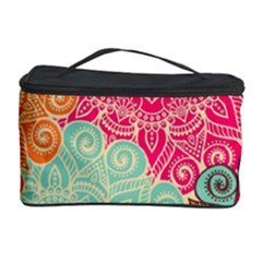 Art Abstract Pattern Cosmetic Storage Case by Onesevenart
