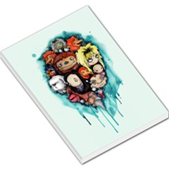 Should You Need Us 2 0 Large Memo Pads by lvbart