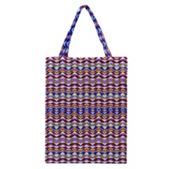 Ethnic Colorful Pattern Classic Tote Bag by dflcprints