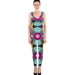 Targets Pattern                                                                                                                Onepiece Catsuit by LalyLauraFLM