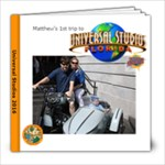 Universal Studios - 8x8 Photo Book (20 pages)