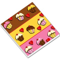 Love Cupcakes Small Memo Pads by Valentinaart