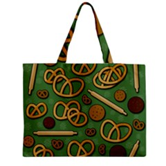 Bakery 4 Medium Zipper Tote Bag by Valentinaart