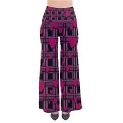 Harts pattern Pants by Valentinaart