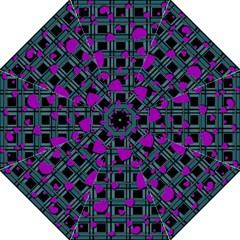 Purple Love Straight Umbrellas by Valentinaart