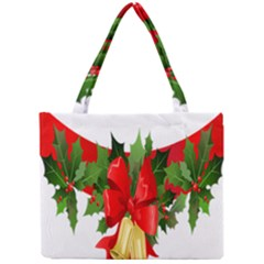 Christmas Clip Art Banners Clipart Best Mini Tote Bag by Onesevenart