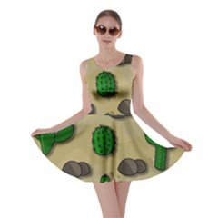 Cactuses Skater Dress by Valentinaart