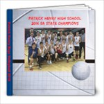 PHHS volleyball 2016 - 8x8 Photo Book (20 pages)